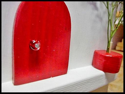 Houten Nestkastje voor Pindakaas pot , Nestkastje, kleur, Vogelhuisje bouwen, vogelhuisje pindakaas pot_11