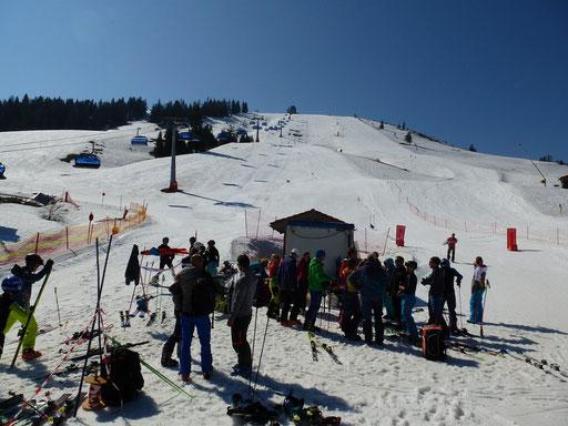 SV DJK Heufeld Skiteam Vereinsmeisterschaft 2019 im Sudelfeld