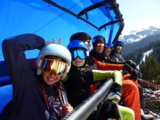SV DJK Heufeld Skiteam Vereinsmeisterschaft 2019 im Sudelfeld Rennläufer im Waldkopflift.