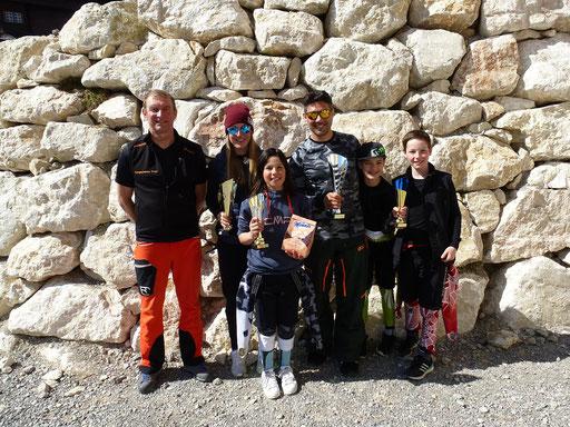 SV DJK Heufeld Skiteam Sieger derVereinsmeisterschaft 2019.