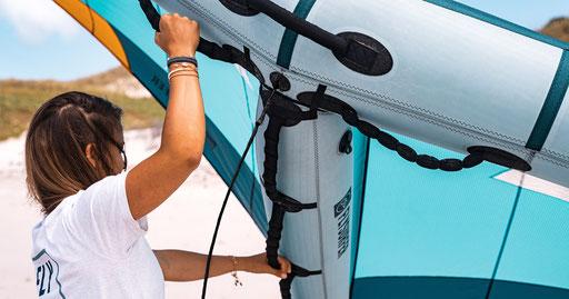 Flysurfer Mojo Wing 2021 Griff Optionen