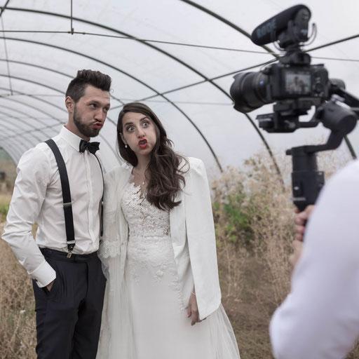 Russischer Videograf für professionelle Hochzeitsvideos