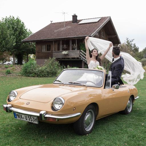 Hochzeit Reportagen in Bad Soden vom professionellen Kamerateam