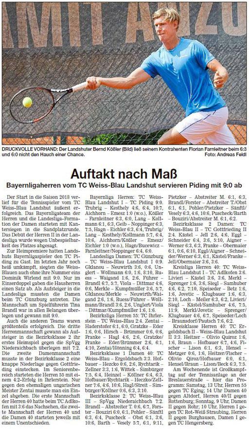 Landshuter Zeitung 15.05.2019