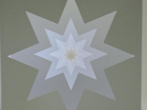 """Stern"" - 10 x 10 cm"