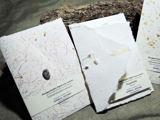 Veschiedene Karten und Kuverts