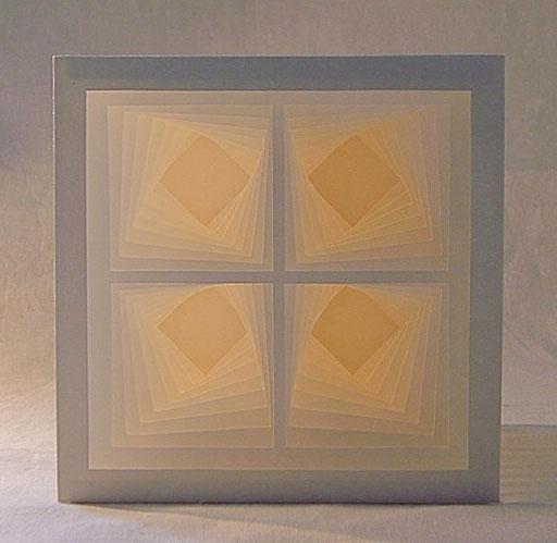 """""""Quadriga"""" - 15x15 cm"""