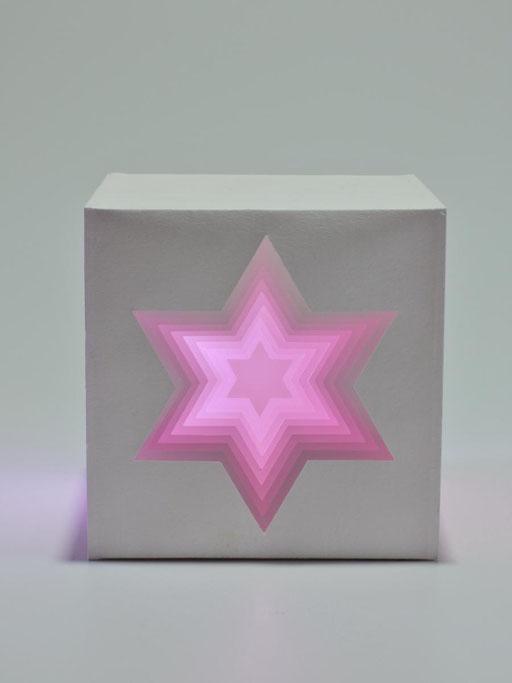 """Hexagramm"" - 10x10 cm"