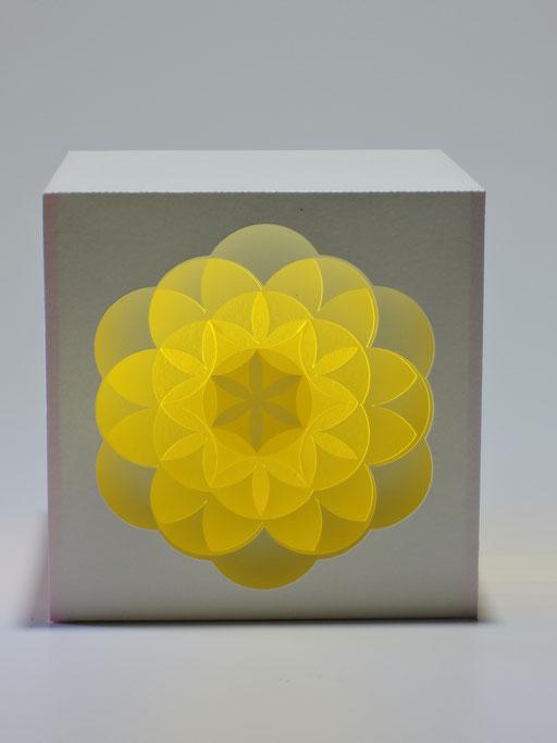 """""""Blume des Lebens"""" - 10x10 cm"""
