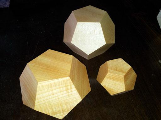 Dodekaeder Holz