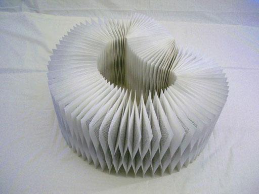 Franz Michael Felder/ PAPIER-art ART-papier, Buchobjekt, Papierarbeit, Kunstobjekt, Harald Metzler, Mattsee, Österreich