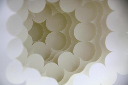 """metadron R"" - 20x20 cm - Detail"