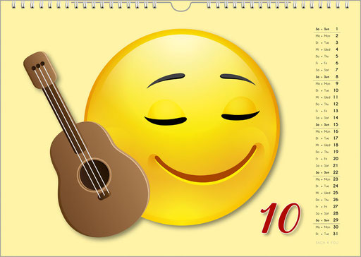 The Emoji Music Calendar ... Music Calendars Are Music Gifts – 99 Music Calendars Are 99 Music Gifts.