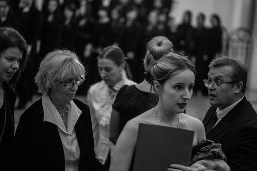 Заключительный концерт в Петрикирхе 18.11.14 Фото: НАТАЛЬЯ РЫБАК