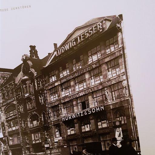 """Ausschnitt aus dem Buch """"Brennender Stoff"""" - Der Hausvogteiplatz, 1933"""