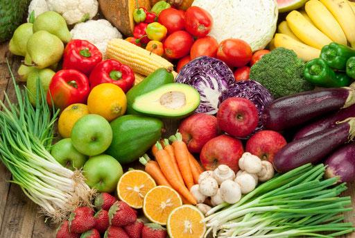 Frutas y verduras, los alimentos que más tenemos que consumir.