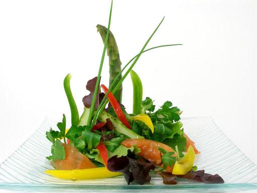 Las ensaladas fuente de vitaminas y minerales.