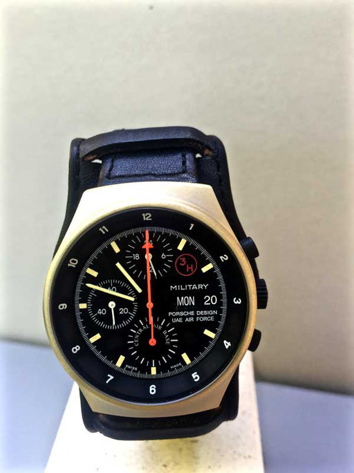 Orifina Porsche Design UAE Air Force Central Air Base Gold