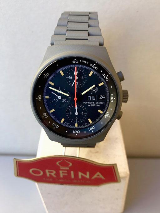 Orfina Porsche Design grau Zivil Lemania 5100
