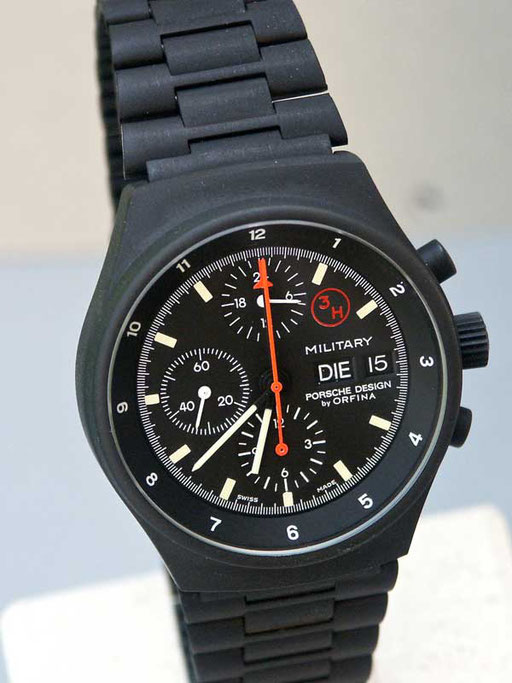 Orfina Military Chronograph 3 H black