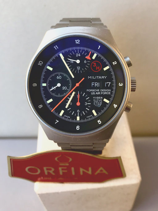 Orfina Porsche Design  US Air Force Tiger Stahl