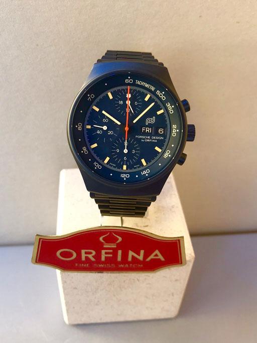 Orfina Porsche Design gebläut Zivil Lemania 5100