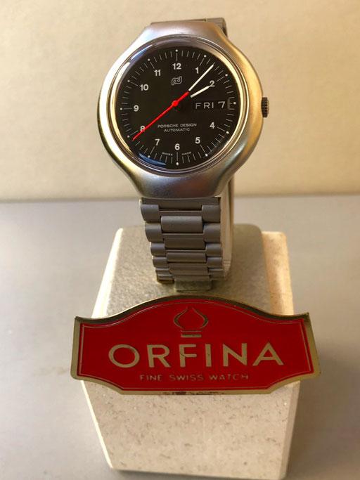 Orfina Porsche Design  3 Zeiger Stahl