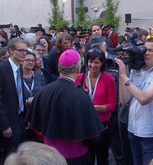 """Bischofsweihe Benno Elbs I RTV Vorarlberg """"On Tour"""" I Juni 2013 I Feldkirch"""