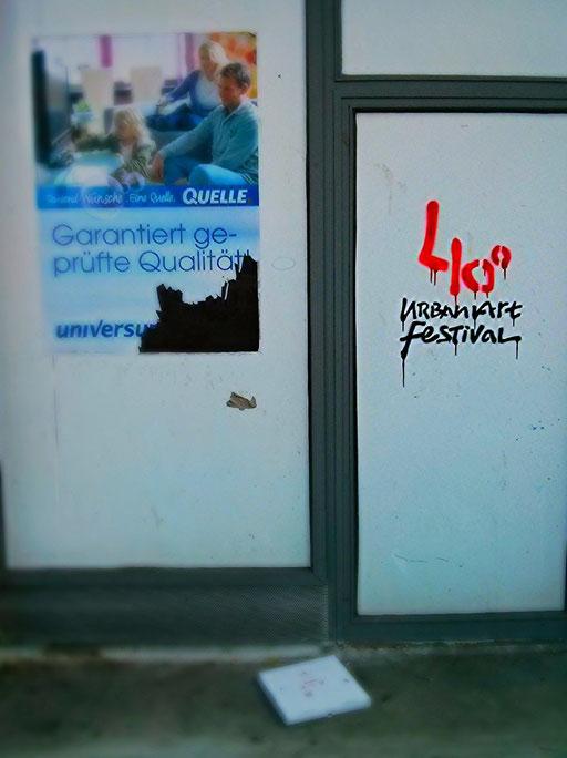 40º Urban Art Festival · Düsseldorf · yak © 2015 RK