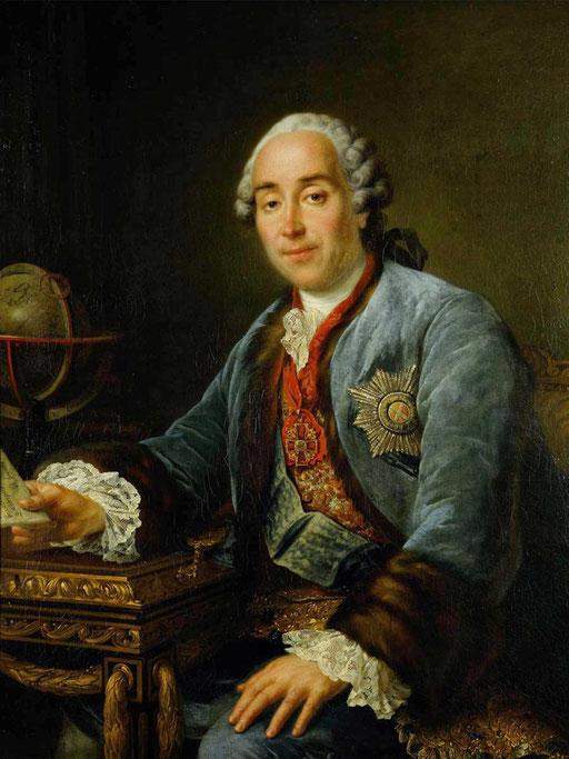 Портрет князя Д.М.Голицына. Франсуа Гюбер Друэ младший