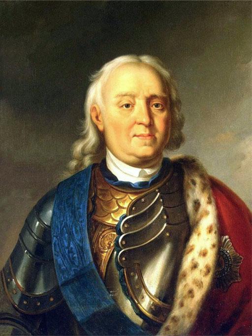 Генерал-адмирал русского флота Фёдор Матвеевич Апраксин