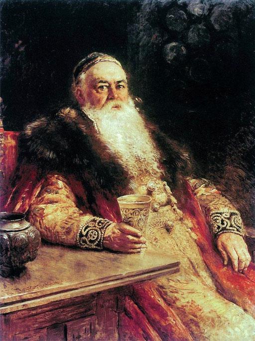 Боярин с кубком. К. Маковский