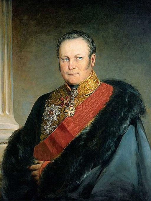 Князь Борис Николаевич Юсупов (1794-1849), сын действительного тайного советника князя Н. Б. Юсупова и Т. В. Энгельгардт.
