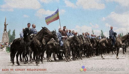 Парад ВСЮР 1919 год.