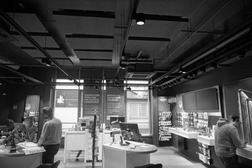 Telekom Shop Braunschweig SUAM Absorber 1200/800/80 gepudertes Antrazit