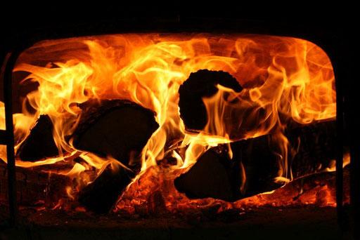 Wow - Herrlich, wie es im Ofen brennt!