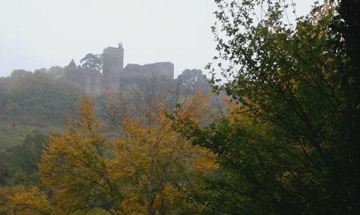 Das mittelalterliche Burgdorf Brancion