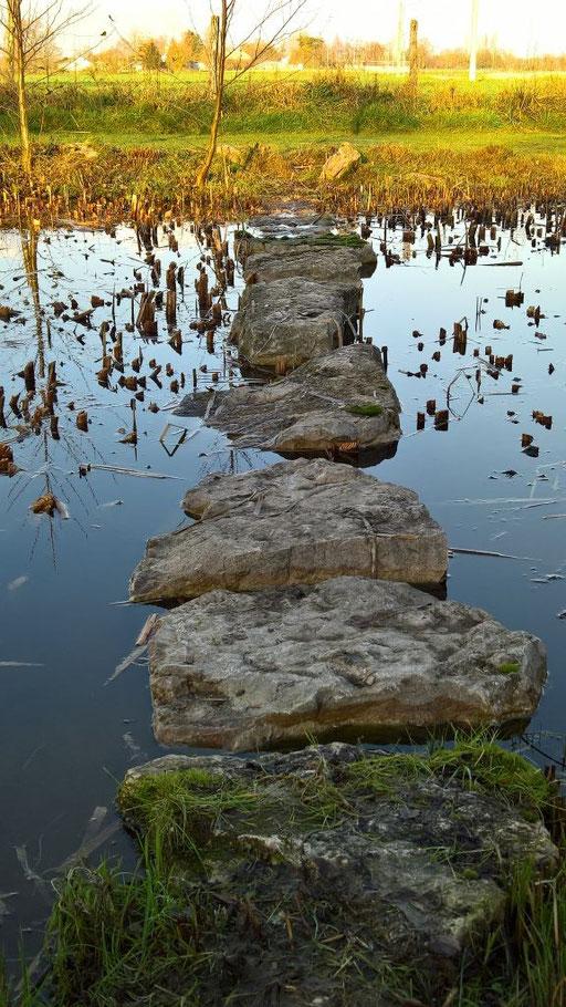 Noch ein Weg übers Wasser