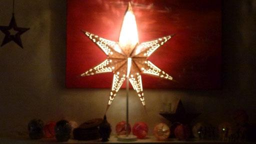 Dieser Stern ist mit nach Hause gekommen