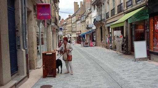 Besuch der Stadt Autun im nördlichen Burgund