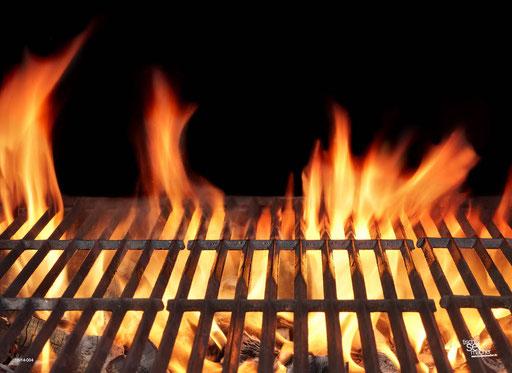 """""""Grillrost mit Flammen"""" SKU: 16_14_004"""