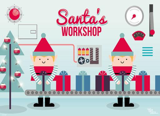 """Santa's Workshop"" SKU: 16_42_027"