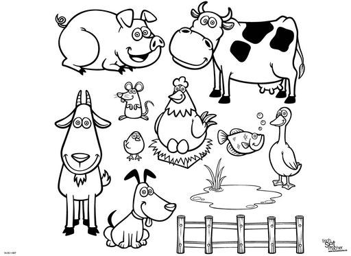"""""""Bauernhoftiere"""" SKU: 16_20_1_007"""