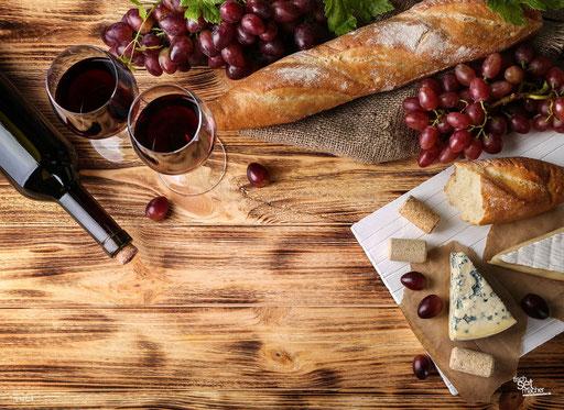 """""""Käse, Baguette und Wein"""" SKU: 16_43_014"""