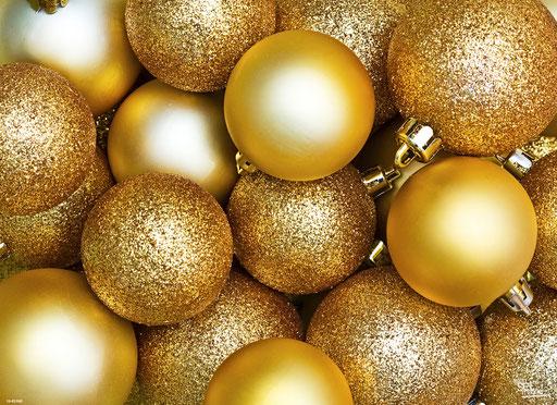 """Goldene Weihnachtskugeln"" SKU: 16_42_040"