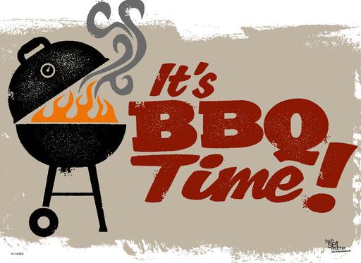 """""""It's BBQ-Time"""" SKU: 16_14_003"""