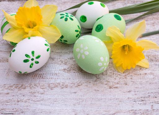 """""""Osterglocken mit grünen Eiern"""" SKU: 19_28_103"""