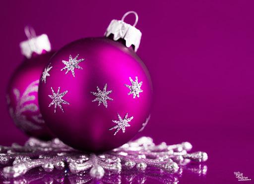 """Lila Weihnachtskugel"" SKU: 16_42_043"
