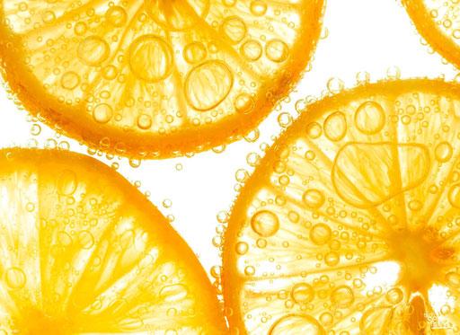 """""""Orangenscheiben im Wasser"""" SKU: 16_26_021"""