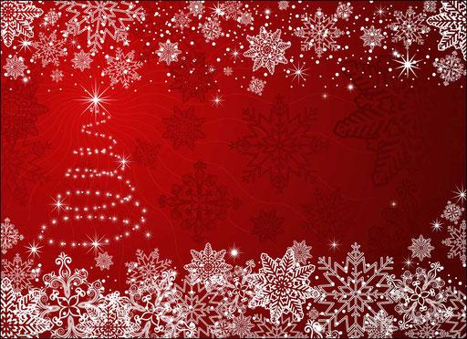 """""""Weihnachtsbaum mit Schneekristallen"""" SKU: 18_42_101"""